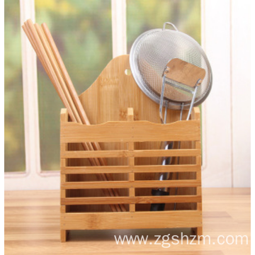Bamboo double-checked chopstick cage